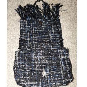 Zara Bags - Zara tweed fringe bag